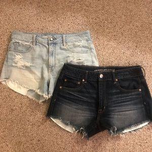 American Eagle High Waisted Shorts Bundle